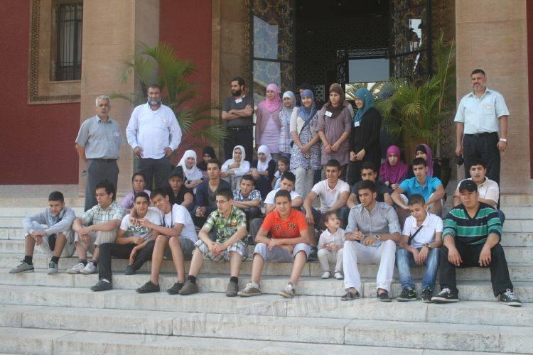 زيارة وفد عن الجمعية الإسلامية للشباب والخدمات الاجتماعية  الى المغرب