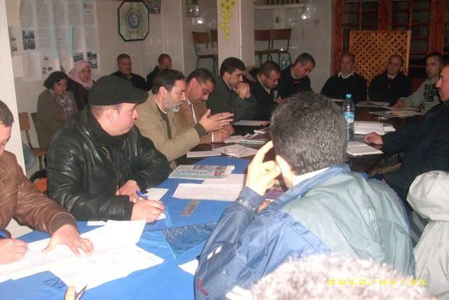 حركة 20 فبراير -تنسيقية الحسيمة- تعقد جمعا ترتيبيا ثانيا مع الهيئات المساندة