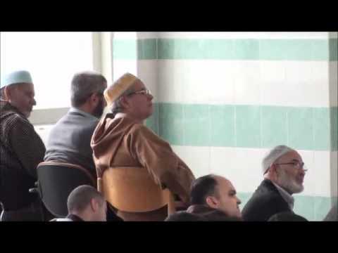 خطبة الجمعة بالريفية في مسجد اوتريخت هولندا