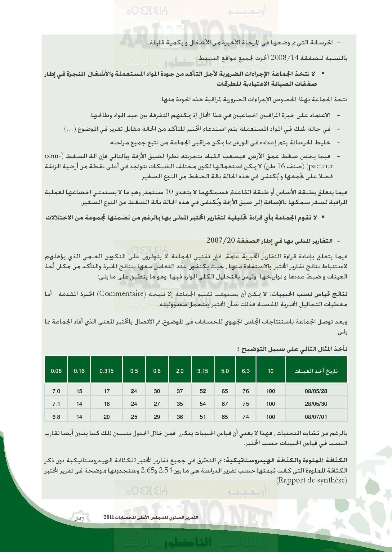 nador_0073 تقرير المجلس الاعلى للحسابات: بلدية الناظور تعيش إختلالات و عشوائية و عاجزة عن القيام بمهامها