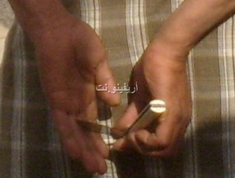 salka_0001 بالصور: شجار بالسكاكين بساحة مسجد لالة أمينة بالناظور والمخازنية أول المتفرجين