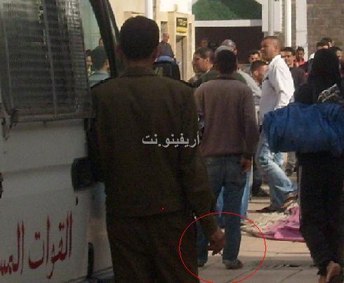 salka_0002 بالصور: شجار بالسكاكين بساحة مسجد لالة أمينة بالناظور والمخازنية أول المتفرجين