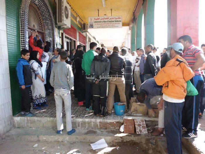 waqafat_0019 تقرير مصور: وقفات إستنكارية لعائلة الحامل المتوفاة بعيادة بلوق - حنان بوعنونو- بالناظور