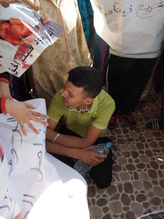 waqafat_0021 تقرير مصور: وقفات إستنكارية لعائلة الحامل المتوفاة بعيادة بلوق - حنان بوعنونو- بالناظور