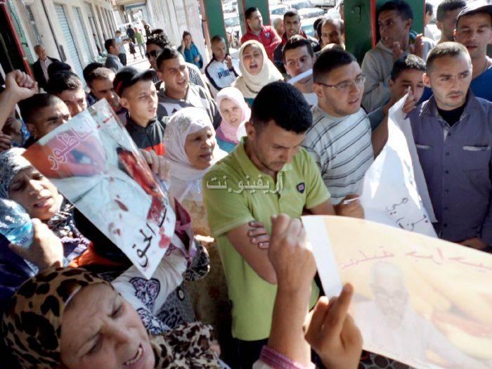 waqafat_0024 تقرير مصور: وقفات إستنكارية لعائلة الحامل المتوفاة بعيادة بلوق - حنان بوعنونو- بالناظور