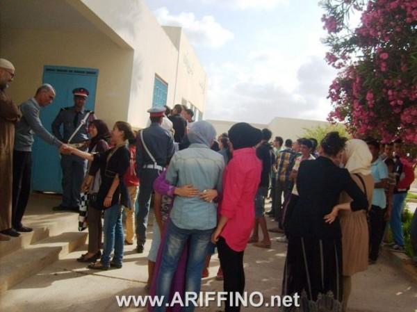 bac_0007 ربورتاج صور و فيديو:  فرحة تعم قرية أركمان عقب اعلان نتائج البكالوريا 2013
