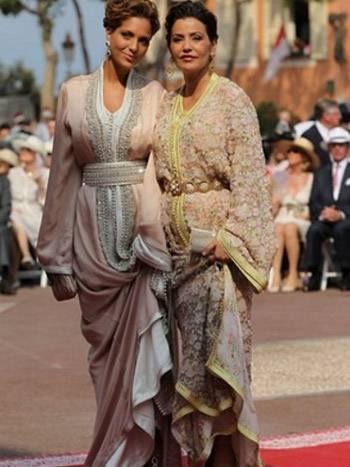 Lalla-Soukaïna-plus-élégante-au-mariage-Albert-de-Monaco