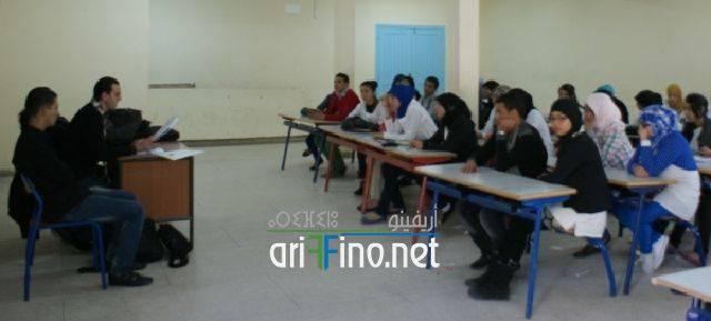 """nador0459 """"الصحفيون الشباب من أجل البيئة """" محور ورشة تكوينية بثانوية طه حسين بأزغنغان"""