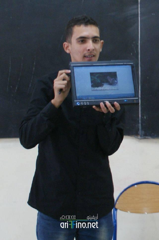 """nador0468 """"الصحفيون الشباب من أجل البيئة """" محور ورشة تكوينية بثانوية طه حسين بأزغنغان"""