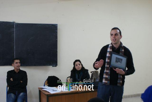 """nador0469 """"الصحفيون الشباب من أجل البيئة """" محور ورشة تكوينية بثانوية طه حسين بأزغنغان"""