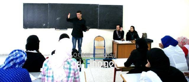 """nador0470 """"الصحفيون الشباب من أجل البيئة """" محور ورشة تكوينية بثانوية طه حسين بأزغنغان"""