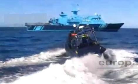 فيديو مثير: مطاردة قارب قرب مليلية تسفر عن ضبط 12 طن من الحشيش