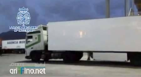 ضبط شاحنة في مليلية يقودها مغربي محملة بـ 517 كيلوغرام من مخدر الشيرا