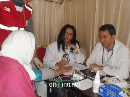 ربورتاج: مئات المرضى من الأسر المعوزة يسفيدون من حملة طبية بدوار لهدارة بأركمان