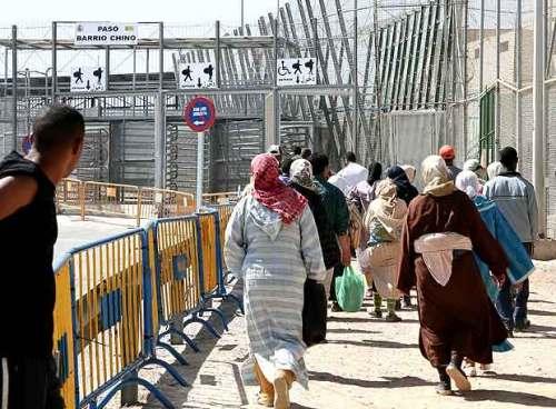 مثير: الشرطة الاسبانية تقبض على سيدة بمعبر بني انصار تهرب رضيعا سوريا مقابل 2 مليون سنتيم