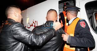 مثير: القبض على 5 اشخاص متهمين بسرقة مخزن أفرشة قرب سوق أولاد ميمون بالناظور