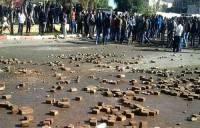 شاهد: إصابات و اعتقالات في مواجهات عنيفة بوجدة بين الطلبة و القوات العمومية