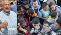 """فضيحة بالصور و الفيديو: أبرشان يستعمل سيارات INDH لحشد الاطفال لتجمعه الخطابي و الناظور تتحول الى """"أبرشانستان"""""""