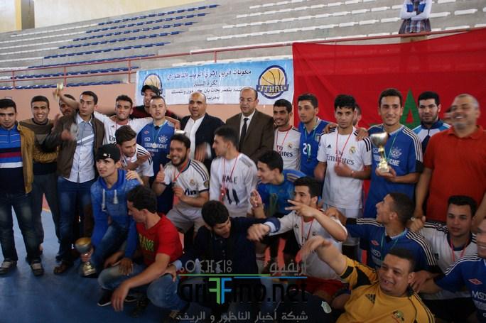 +صور : اختتام دوري كرة القدم للتعليم العتيق بمدينة الناظور