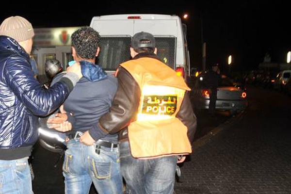القبض على تاجر مخدرات كان موضوع مذكرة بحث بالناظور