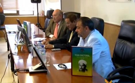 """شاهد بالفيديو :تقديم كتاب حول """"نخب الريف والساحة الدولية""""بمدينة مليلية"""