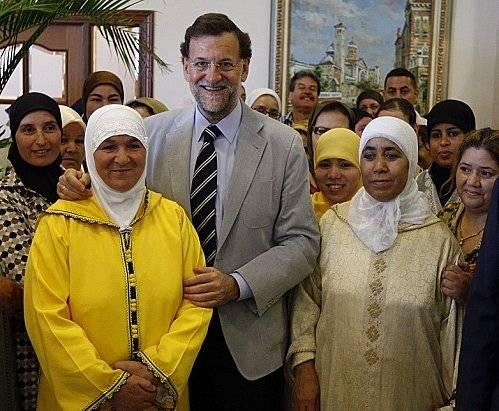 أكثرية مغاربة مليلية المحتلة يُجددون تصويتهم لماريانو راخوي لعلاقة حزبه الجيدة مع المغرب