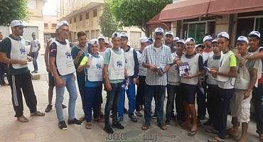 روبورتاج مصور: حوليش يقود حملته الانتخابية بالناظور بمساندة بيوي وبدهاء كبير وتخطيط متقن..