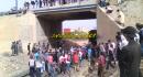 صور صادمة : مأساة .. قطار يقطع رأس شخص على السكة الرابطة بين تاوريرت والناظور