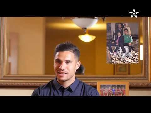 +فيديو: الحارس الناظوري للمنتخب منير المحمدي في برنامج ريفي للحديث عن حياته