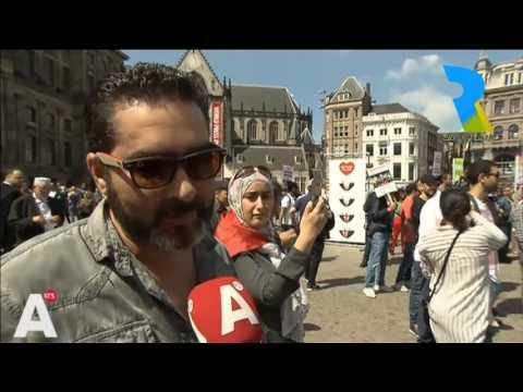 +فيديو: مسيرة امستردام التضامنية مع الريف على قناة هولندية