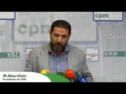 بالفيديو: د مصطفى ابرشان رئيس حزب CPM لمسلمي مليلية يتضامن مع حراك الريف