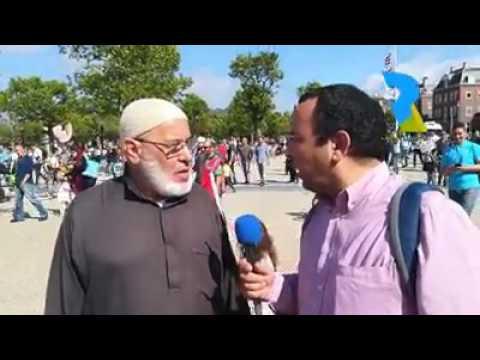+فيديو: كلمة مؤثرة من مسن ريفي بهولندا في حق ناصر الزفزافي