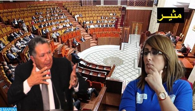 + فيديو: الفاضيلي برلماني الدريوش يسحب الميكروفون من احكيم برلمانية الناظور ليقول هذا في جلسة مسائلة وزير الداخلية؟؟