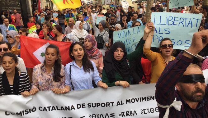 + فيديوهات: مسيرات احتجاجية تجوب شوارع بلجيكا وإسبانيا و هولندا تضامنا مع الريف