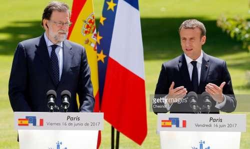 رئيس فرنسا و رئيس حكومة اسبانيا يناقشان حراك الريف و هذا ما اتفقا على فعله؟؟