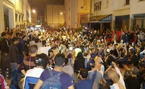 في العيد: اعتقال قاصر وثلاثة نشطاء لحراك الريف بعد مسيرة امزورن