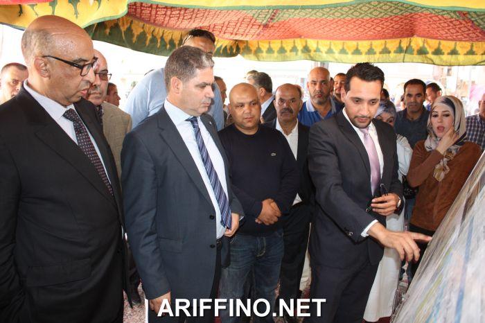 +صور: مجلس اقليم الدريوش يعطي انطلاقة مشاريع تنموية بجماعة تمسمان