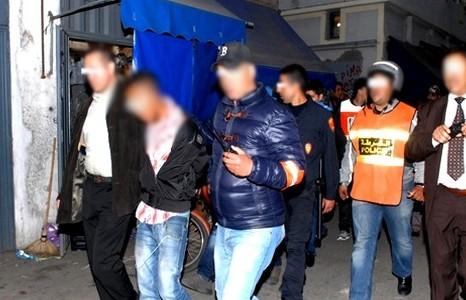 ضربة أمنية : شرطة الناظور القضائية تقبض على 7 اشخاص و تحجز 12 طنا من المخدرات صباح اليوم