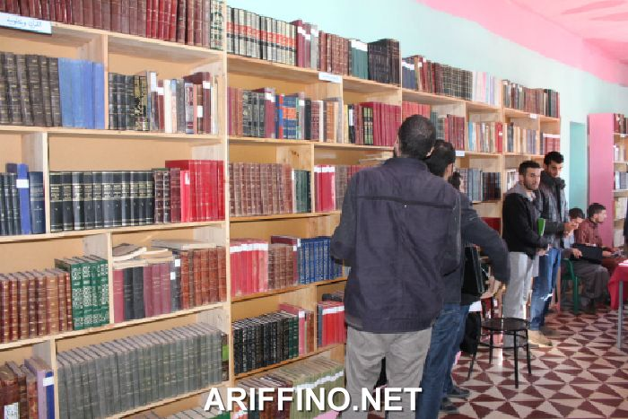 روبورتاج: المجلس العلمي في زيارة ميدانية لمكتبة العربي الورياشي بدوار بوهراوة بسلوان