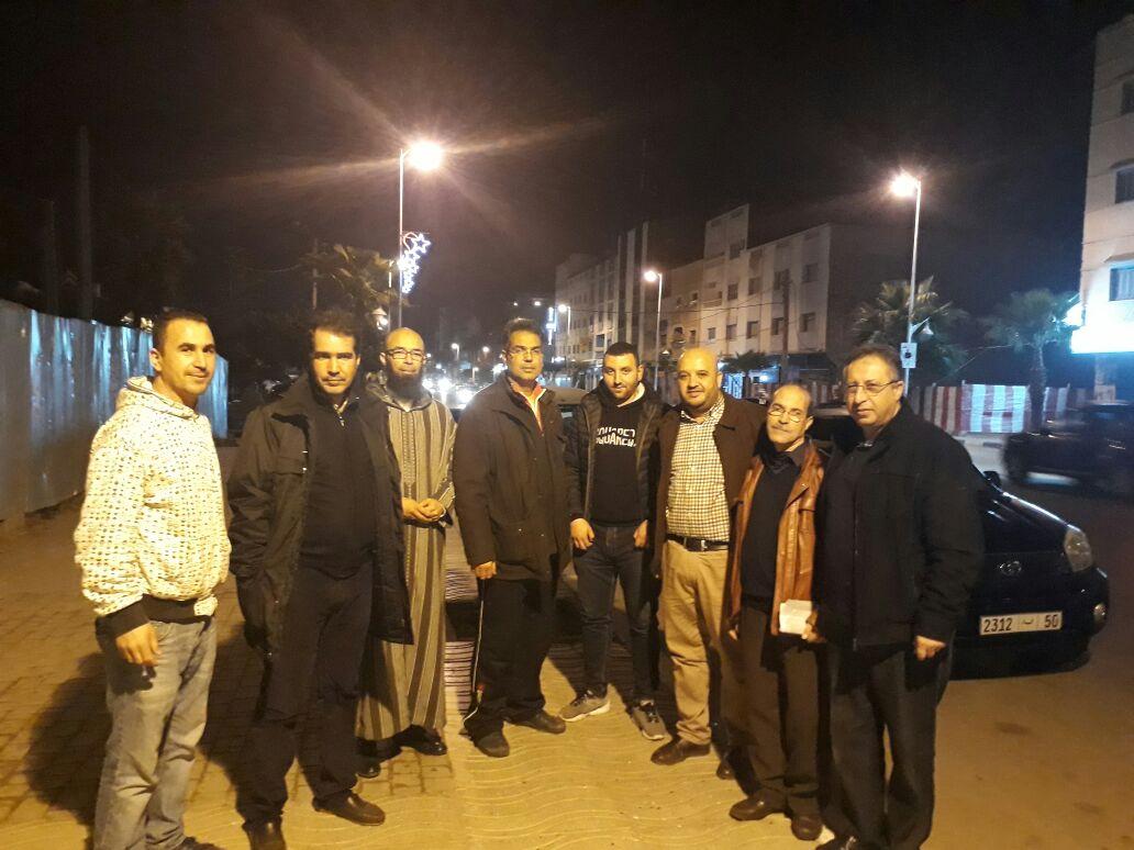 شاهد بالصور .. جمعية البسمة ترسم البسمة بشوارع الناظور