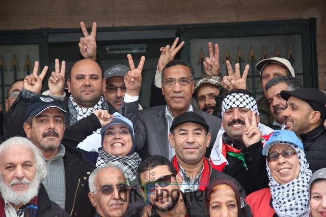 +صور و فيديو: مشاركة ناظورية وازنة في مسيرة القدس بالرباط