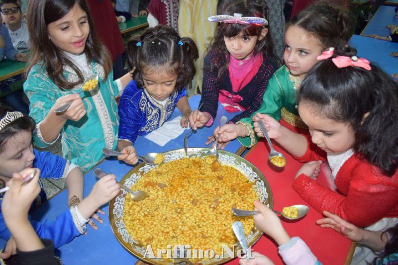 + صور : براعم مؤسسة الثريا للتعليم الخصوصي تحتفل بالمولد النبوي الشريف