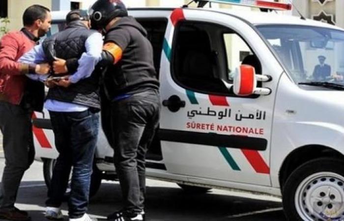 """أمن سطات يعتقل تاجر مخدرات ناظوري و بحوزته كمية من مخدر """"الحشيش"""""""