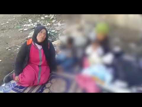 +فيديو: عائلة تعاني ويلات التشرد بالناظور بعد قيام الأب باغتصاب ابنته وحملها منه