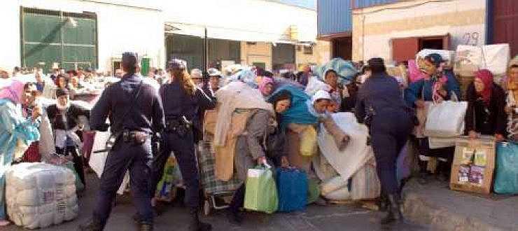 تحليل اقتصادي: تعويم الدرهم و اختناقات مليلية تدفع الناظوريين للسلع المغربية و التجار الى تركيا و الصين؟؟