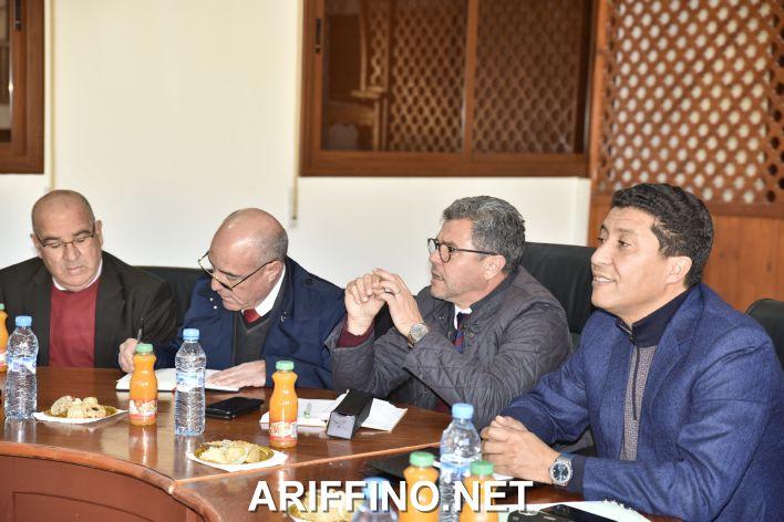 +صور: رئيس الشرق يجتمع مع أعضاء جماعة احفير وفعاليات المجتمع المدني