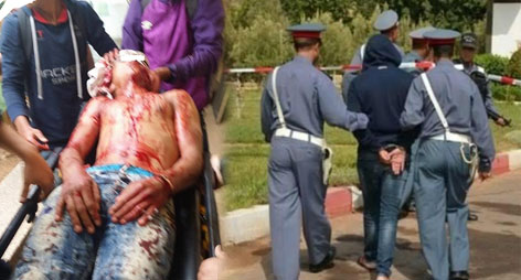 خطير: عصابة مقنعة تهاجم مواطنين بالدريوش