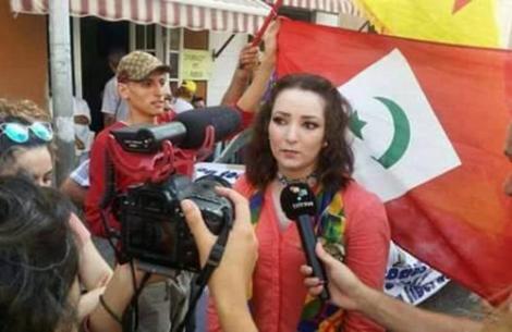 نشطاء الحراك الشعبي بالناظور يحتجون امام قنصلية اسبانيا لهذا السبب؟