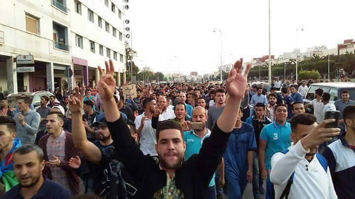 نشطاء حراك الناظور يتبرؤون من الوقفة امام القنصلية
