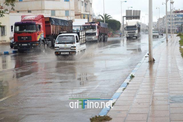 عودة الأمطار و الطقس البارد الى الناظور ابتداء من الاثنين